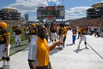 2007 Pittsburgh Steelers season - RBs coach Kirby Wilson during week 2 of the 2007 season