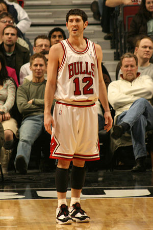 Kirk Hinrich - Hinrich with the Chicago Bulls