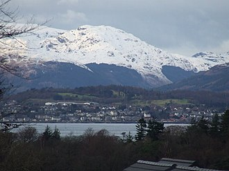 Kirn, Argyll - Image: Kirn and the River Clyde from Inverkip geograph.org.uk 1075296