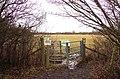 Kissing gate to Bernwood Meadows - geograph.org.uk - 1732990.jpg