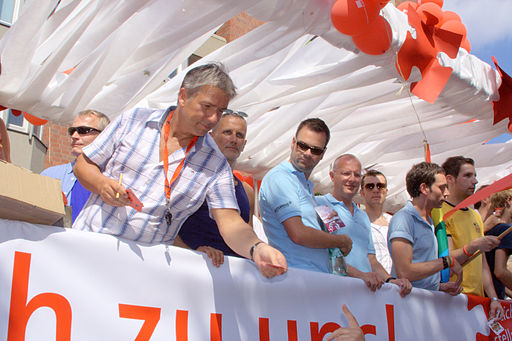 Klaus Wowereit-Christopher Street Day-Berlin 2006