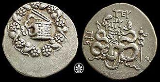 Cista - Cista on a coin