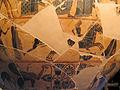 Kleitias e vasaio ergotimos, cratere françois, 570 ac ca. nozze di peleo e teti 4.JPG