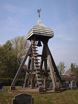 The cemetery bell of Bantega