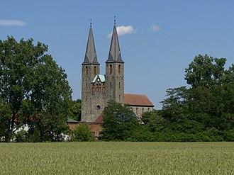 Hillersleben - St. Laurentius Church of the former Benedictine nuns monastery in Hillersleben