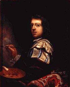 Johann Zacharias Kneller - Selfportrait (date 1684)