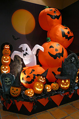Halloween wikipedia la enciclopedia libre - Ideas decoracion halloween fiesta ...