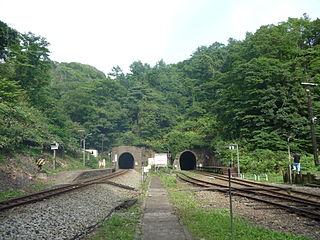 Koboro Station Railway station in Toyoura, Hokkaido, Japan