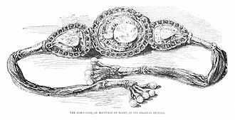 Koh-i-Noor - In the armlet given to Victoria