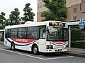 Kokusai Juo Kotsu 2139 at Honjo Station.jpg