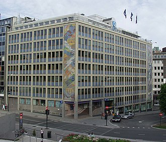 Norwegian Association of Local and Regional Authorities - Headquarters, designed by F. S. Platou