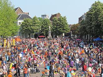 Koningsdag - Vrijmarkt, Koninginnedag 2011, Deventer