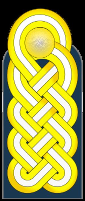 Konteradmiral - Shoulder strap