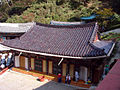 Korea-Danyang-Guinsa Hall Glazed Roof 2974-07.JPG
