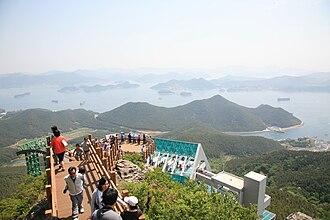 Tongyeong - Image: Korea Tongyeong Hallyeo National Marine Park 05