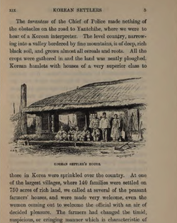Page from Korea and Her Neighbours, published in 1898.