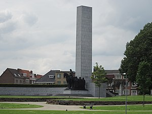 Battle of the Lys (1940) - The Leiemonument (Monument of the Lys)