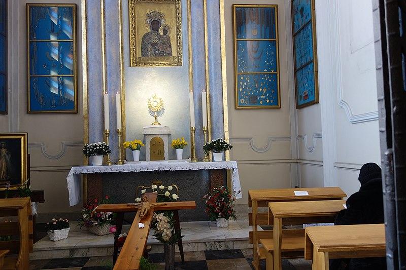 Kosciol Sw Jozefa i Jana od Krzyza kaplica Matki Bozej