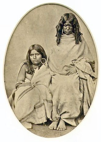Kota people (India) - Image: Kota women 1870