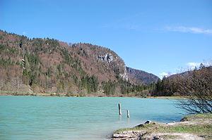 Lake Kreda - Image: Kreda lake in Radovna