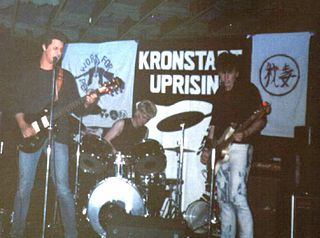 Kronstadt Uprising (band) British band
