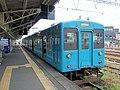 Kumoha 105-5 at Shingu Station.jpg