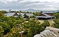 Kyoto Nijo-jo Blick auf den Honmaru-goten-Palast 3.jpg