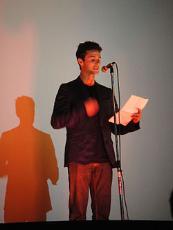 LA Animation Festival - Iron Giant introduction from Eli Marienthal (the voice of Hogarth Hughes).jpg
