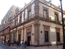 Talavera pottery wikipedia for Palacio de los azulejos mexico