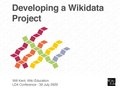 LD4-2020 - Developing a Wikidata Project.pdf