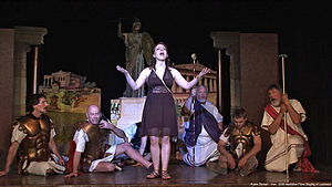 Lysistrata - A 2007 staging of Lysistrata