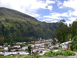 La Unión, Huánuco - La Unión from noon to late.