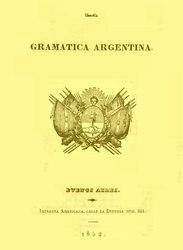 Español: La Gramática Argentina