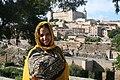 La periodista saharaui Ebbaba Hameida Hafed en Toledo (2015).jpg