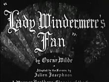 Fichier:Lady Windermere's Fan (1925).webm