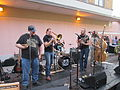Lafayette Steampunk 2013 Carrie Nation Speakeasy Stage.JPG