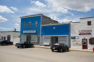 Lafleche, Saskatchewan - Lafleche Main Street