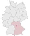 Lage des Landkreises Fürth in Deutschland.png