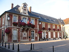 The town hall of Lagny-sur-Marne