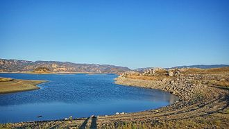 Lake Berryessa - A view of Lake Berryessa