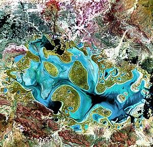 Lake Carnegie (Western Australia) - Image: Lake carnegie