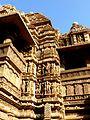 Lakshmana Temple Western Group of Temples Khajuraho India - panoramio (3).jpg