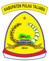 Official seal of Taliabu Island Regency