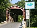 Landis Mill Covered Bridge Approach 3264px.jpg
