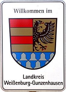 landkreis wei enburg gunzenhausen wikipedia. Black Bedroom Furniture Sets. Home Design Ideas