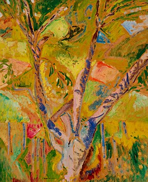 Alfred Henry Maurer - Image: Landscape of Provence Alfred Henry Maurer