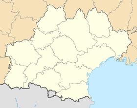 Voir sur la carte administrative de l'Occitanie (région administrative)