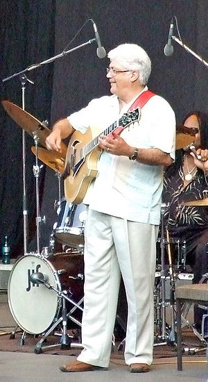 "Larry Coryell - Coryell at ""Jazz im Palmengarten"", Frankfurt am Main, 2009"