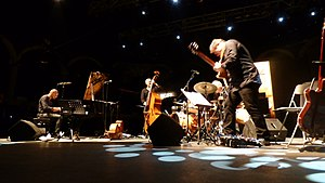Lars Danielsson - Lars Danielsson New Quintet concert at San Javier Jazz Festival (Spain), July 2016