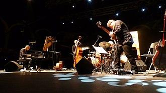 Lars Danielsson - Lars Danielsson New Quintet concert at San Javier Jazz Festival (Spain), July 2016